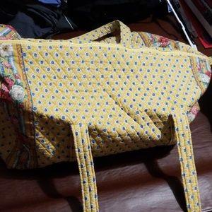 XL Vera Bradley Duffle Bag